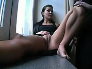 Hard dick pussy horny beauty masturbating shaved shaved