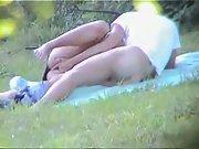 Outdoor fun hot outdoors public couple caught sexy