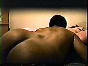 Chubby wife black man dick housewife caught camera sucking