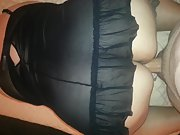 Hands fucking cock ass big bbw sexy black lingerie balls