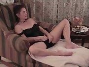 Masturbating home cum self cum