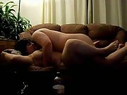 Sex sofa bareback caught time chubby wife cum cum inside