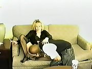 Married blonde white wife lingerie black white wife
